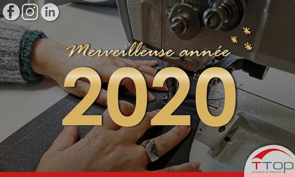 Tous nos vœux pour l'année 2020 !